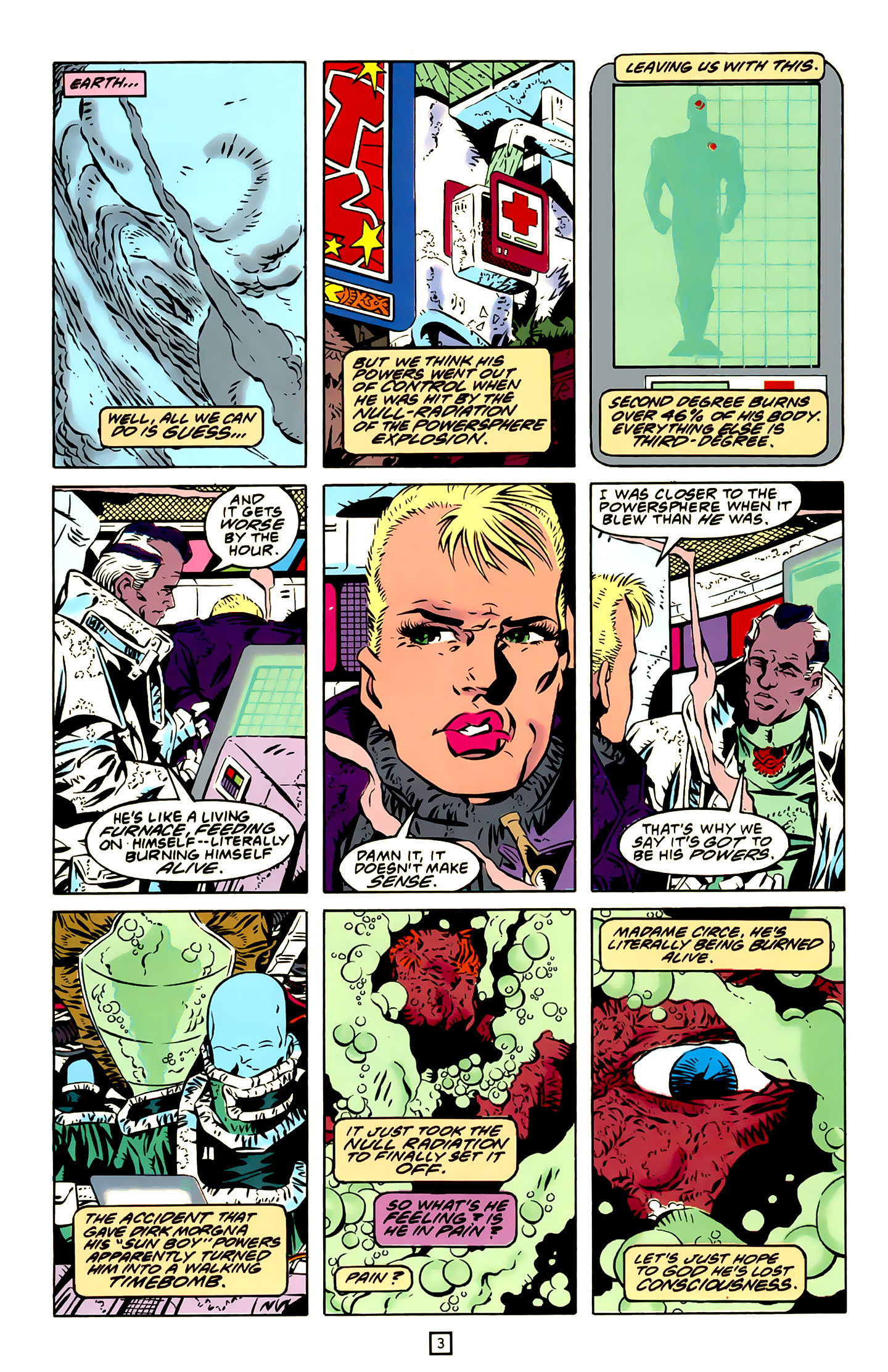 Legion of Super-Heroes (1989) 20 Page 3