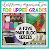 Classroom Organization in the Upper Grades {Part 3 of 5}