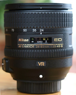 Jual lensa Nikon 24-85mm VR Bekas