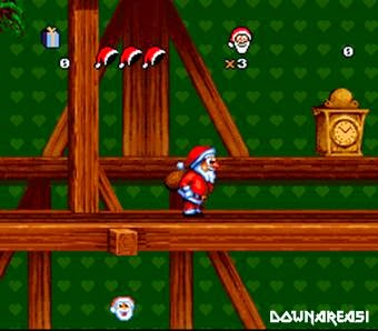Langsung Browse dan Mainkan dengan Emulator Daze Before Christmas SNES Rom