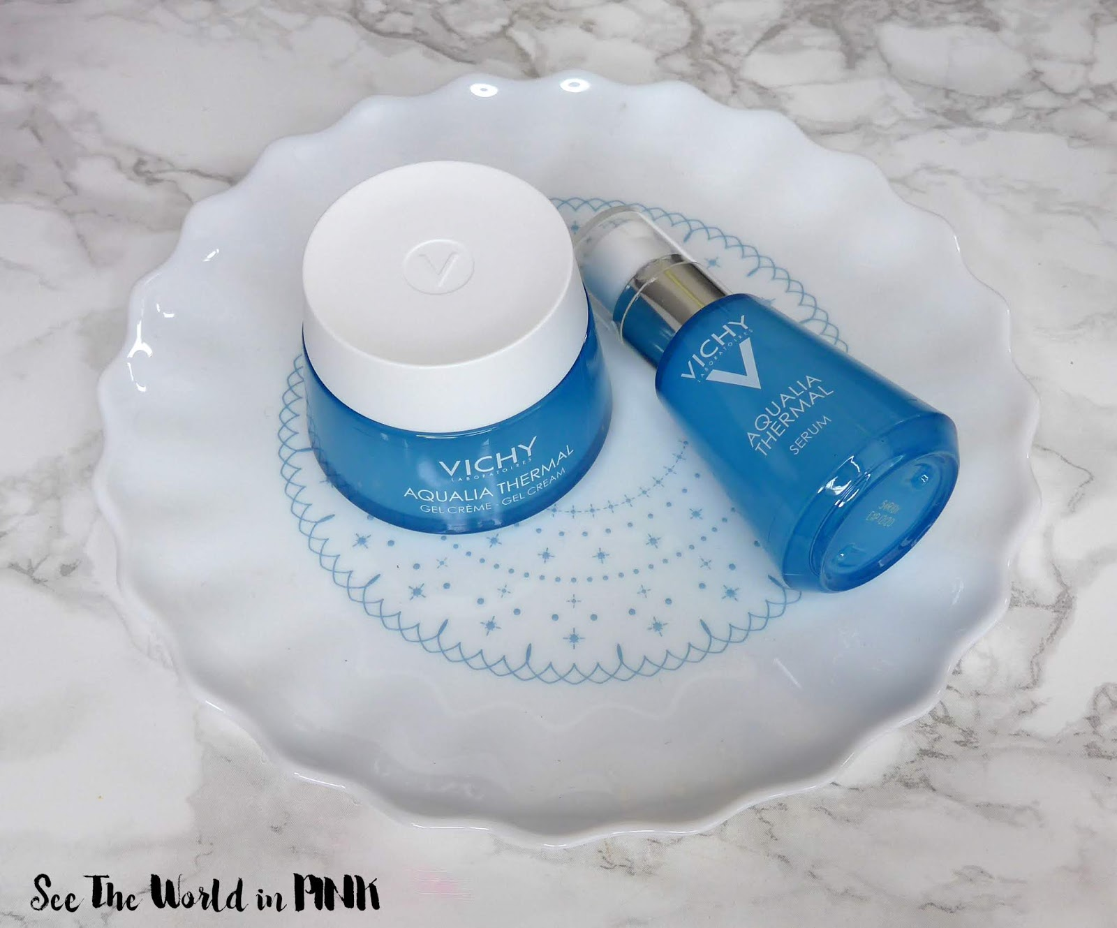 Skincare Sunday - Revamped Vichy Aqualia Thermal Rehydrating Serum and Water Gel