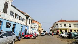 Rue de Angola in Sao TOme