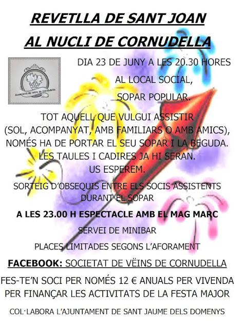 Esguard de Dona - Revetlla de Sant Joan 2017 a Cornudella (Sant Jaume dels Domenys)