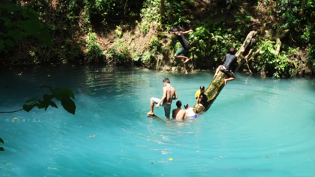 The Blue Lagoon in Datu Odin Sinsuat, Maguindanao