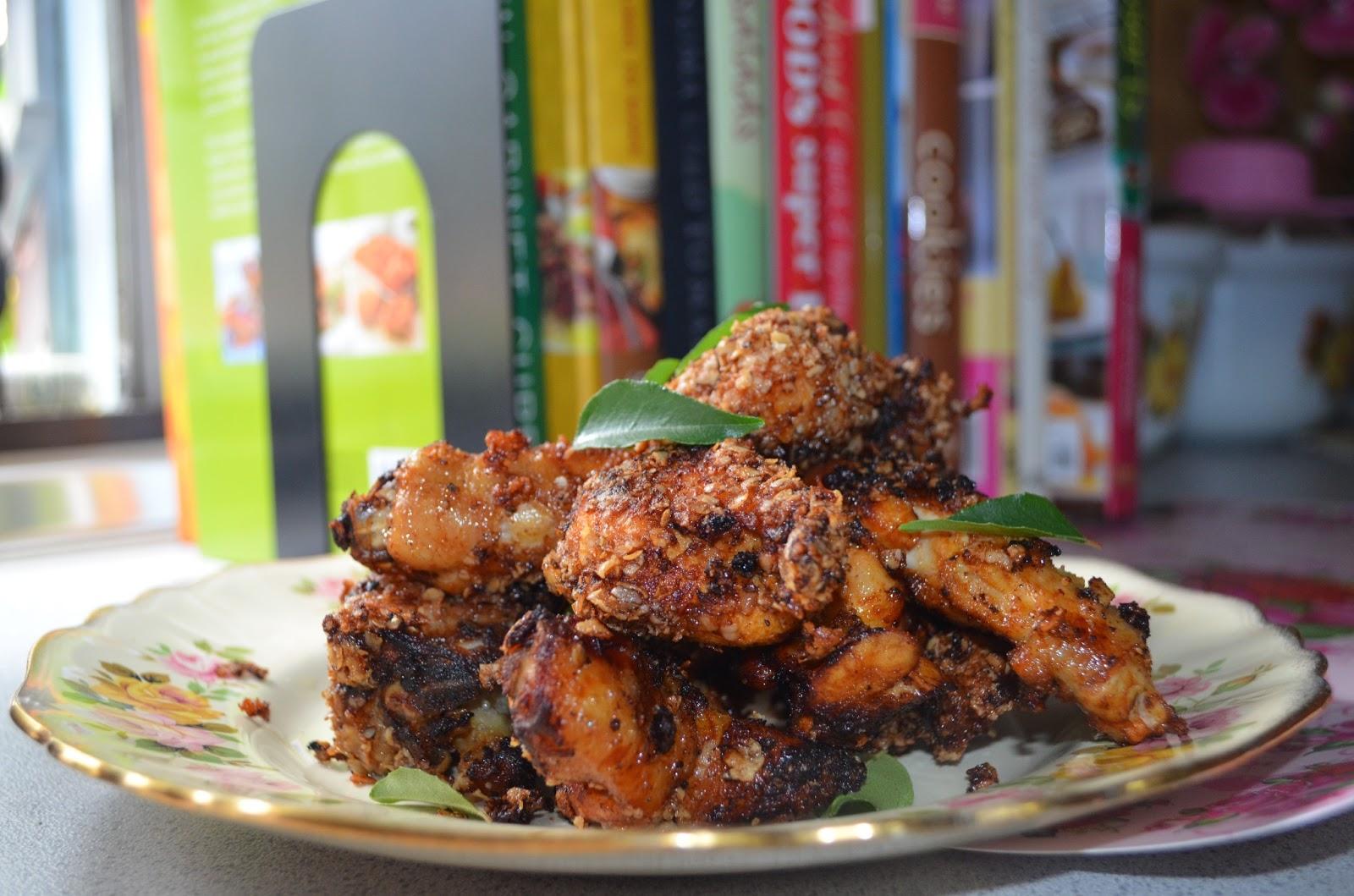 Ditambah Menu Berkhasiat Ayam Boxing Oat Berempah Crispy Resepi