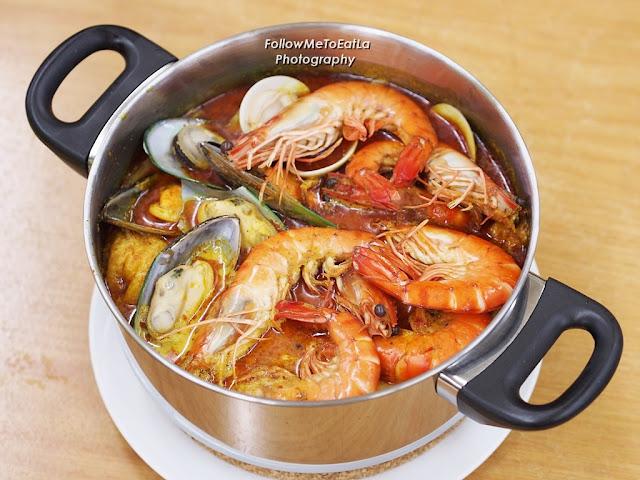 咖喱海鲜煲  Curry Seafood Pot