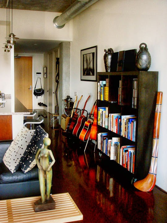 Decorate your Living Room with Instruments ~ GOODIY