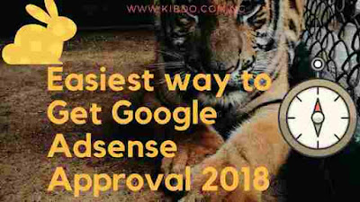 Google adsense application approved