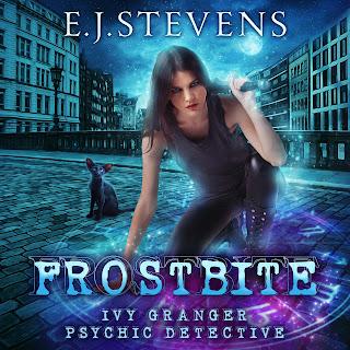 Frostbite Ivy Granger Psychic Detective Award Winning Urban Fantasy Audiobook by E.J. Stevens