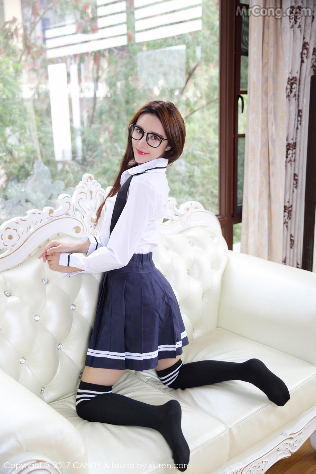 Image CANDY-2017-04-28-Vol.020-Yi-Li-Na-MrCong.com-009 in post CANDY Vol.020: Người mẫu Yi Li Na (伊莉娜) (59 ảnh)