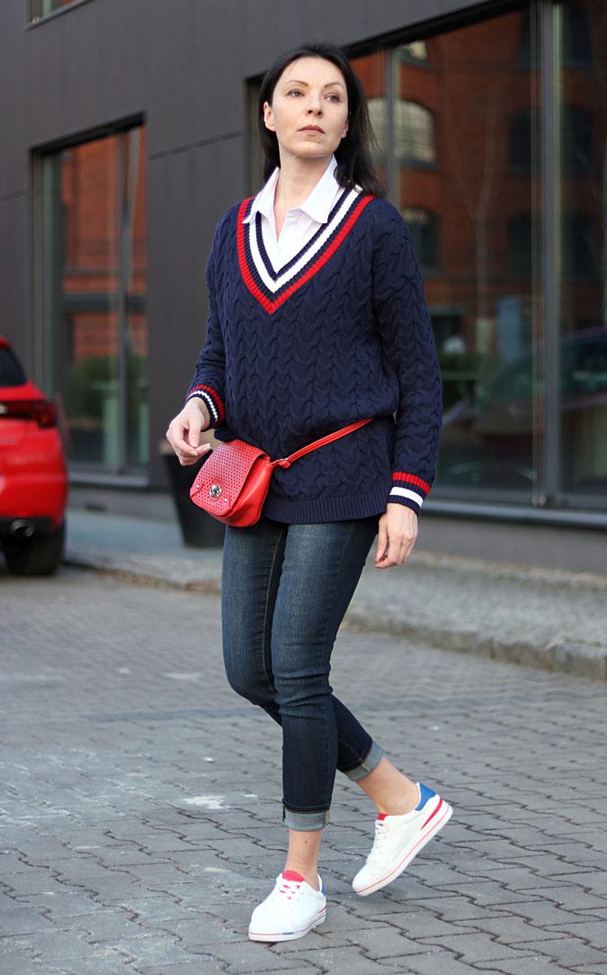 swetry damskie stylizacje