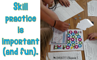 Games have a place in reading instruction, but make sure the purpose is clear and that the skills have been previously introduced. Read this blog post to learn about the literacy centers I couldn't live without in my upper elementary classroom.