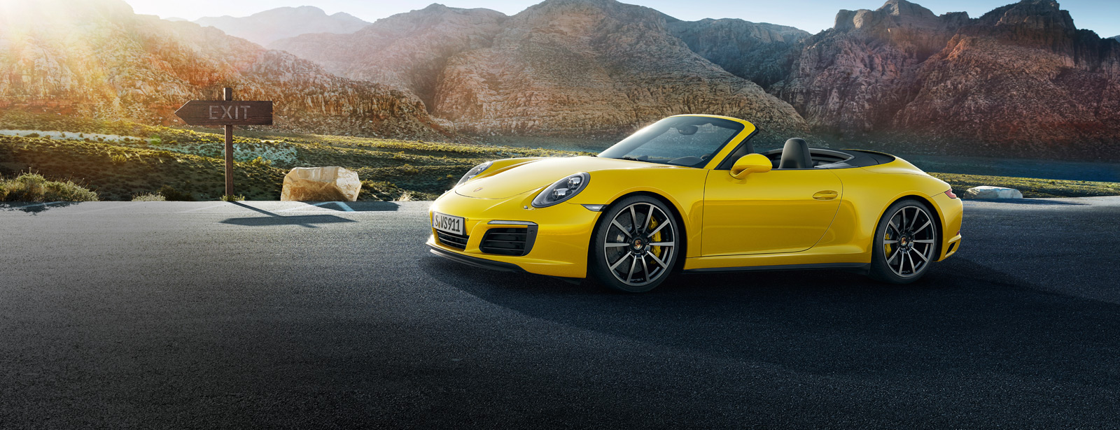 Porsche The new 911 Carrera 4S Cabriolet