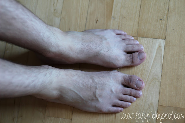 Kocostar Foot Therapy Male Foot After