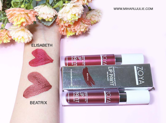 New shades of Zoya Lip Paint – Metallic Series