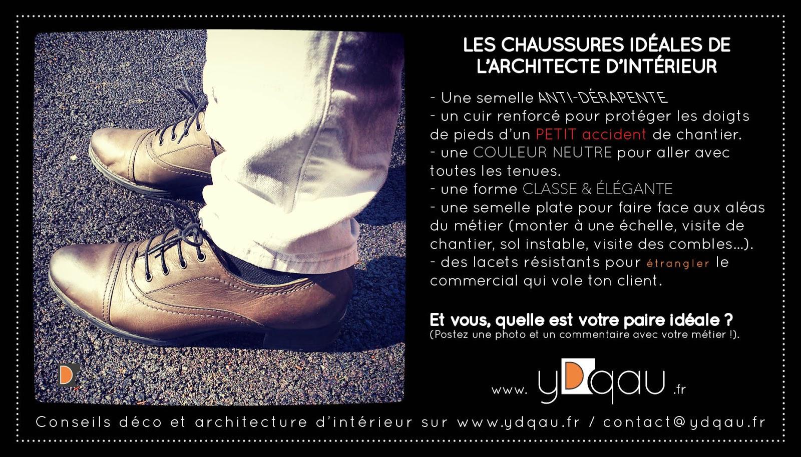 Les Chaussures Idéales De L'architecte D'intérieur