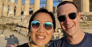 Ο Μαρκ Ζούκερμπεργκ στην Ακρόπολη: Η ανάρτησή του στο Facebook