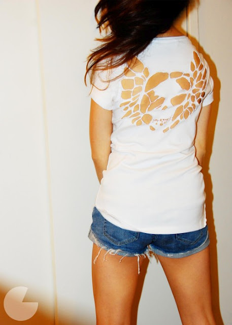 Cut Out T Shirts Design | Different Fashions