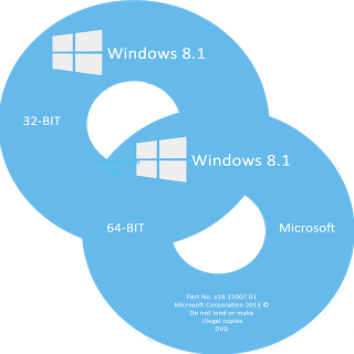 Windows 8.1 CD Cover