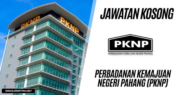 Jawatan Kosong di Perbadanan Kemajuan Negeri Pahang (PKNP) 2019