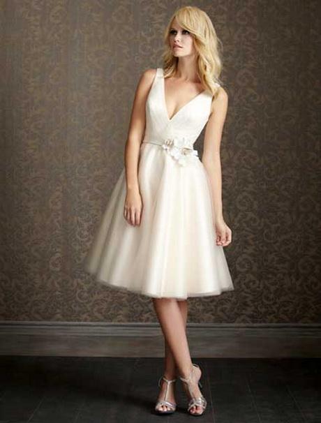 vestidos de novia cortos civil