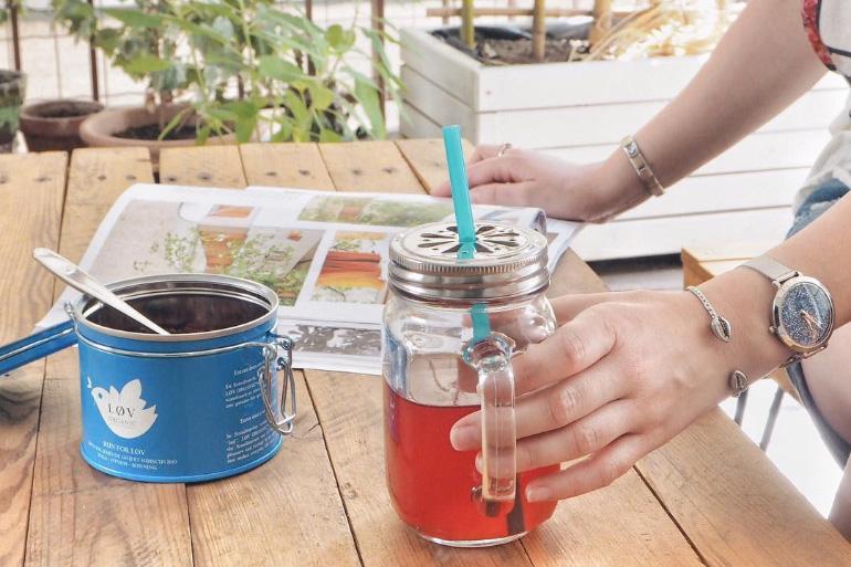 Thé glacé Løv Organic pour les journées chaudes d'été