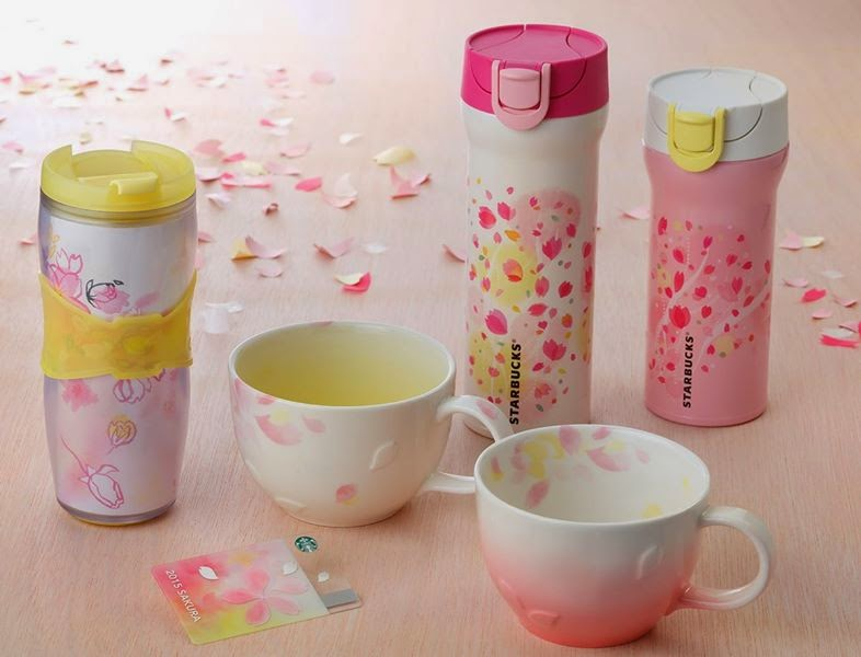 Starbucks Cherry Blossom Selections Tumblers