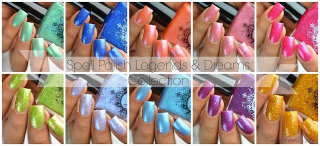 Spell Polish Legend and Dreams Collection