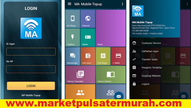 Market Pulsa server Ke-5 CV. Multi Payment Nusantara