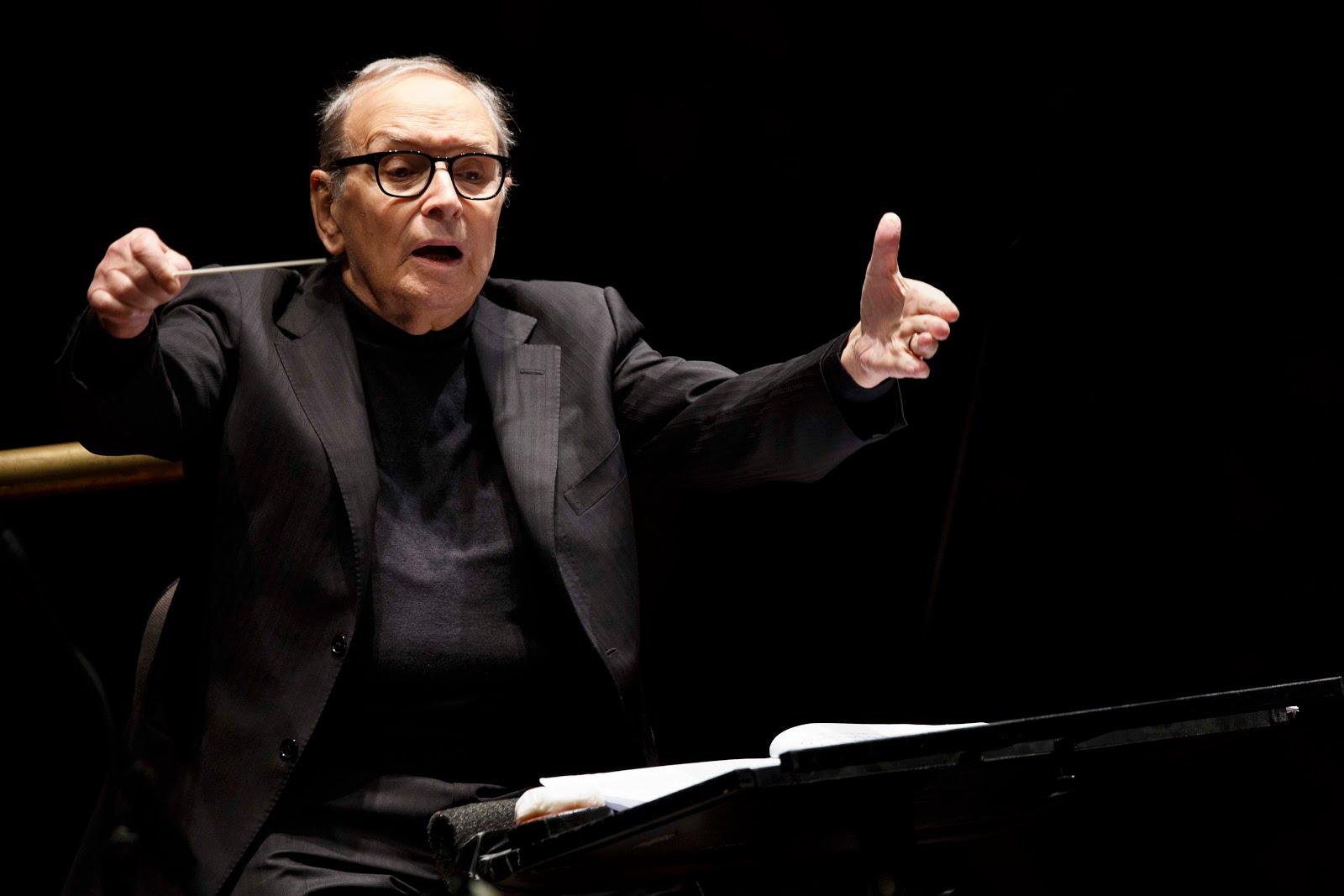 Lo straordinario concerto di morricone all auditorium for Auditorium parco della musica sala santa cecilia posti migliori
