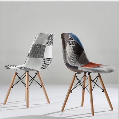 Các mẫu ghế Eames nhựa đúc được ưa chuộng cho quán cafe 3