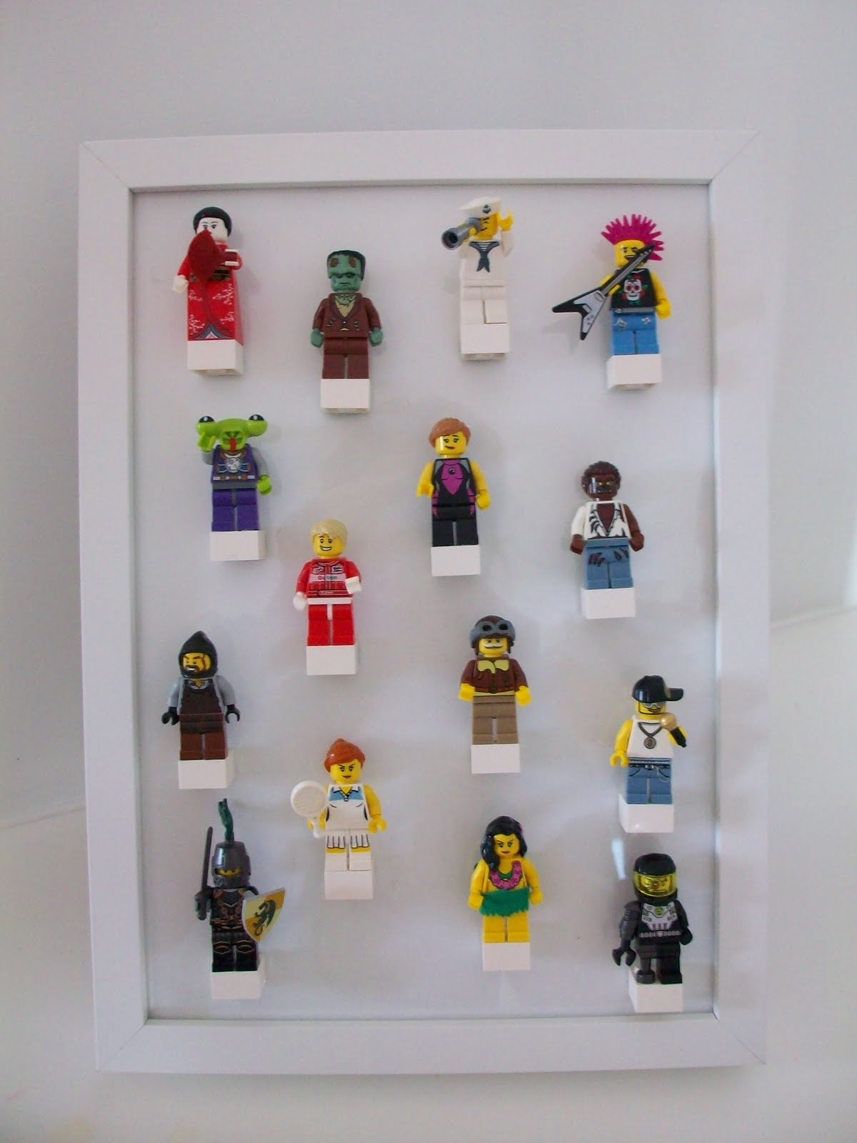 Completed Lego Storage Display