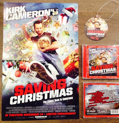 Saving Christmas prize pack. #Christmas #Giveaway
