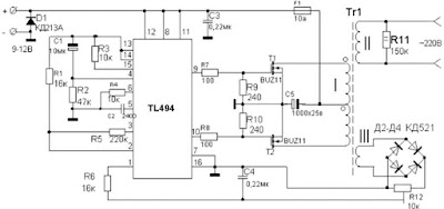 зщцук inverter tl494