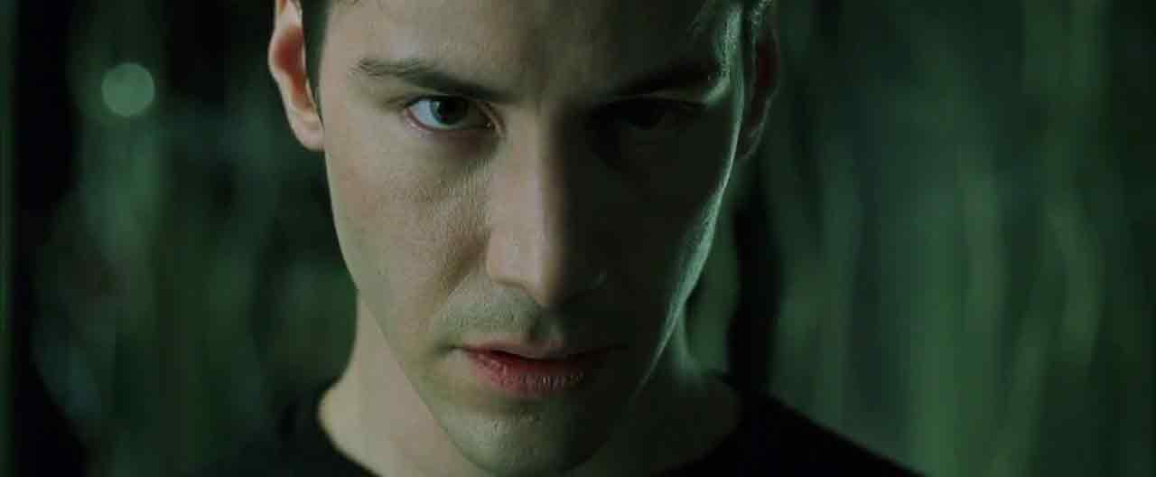 Screen Shot Of Hollywood Movie The Matrix (1999) In Hindi English Full Movie Free Download And Watch Online at worldfree4u.com