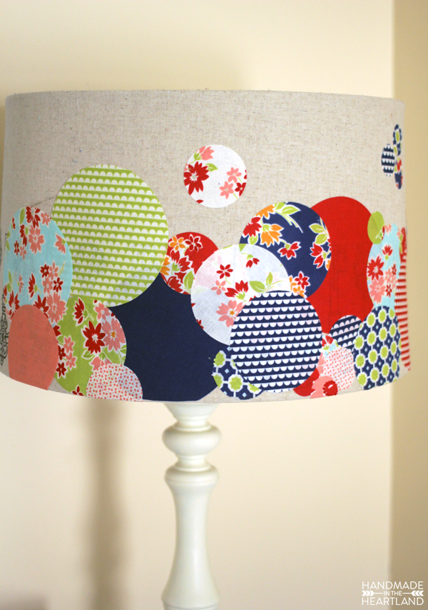DIY Lampshade Upcycle with Cricut