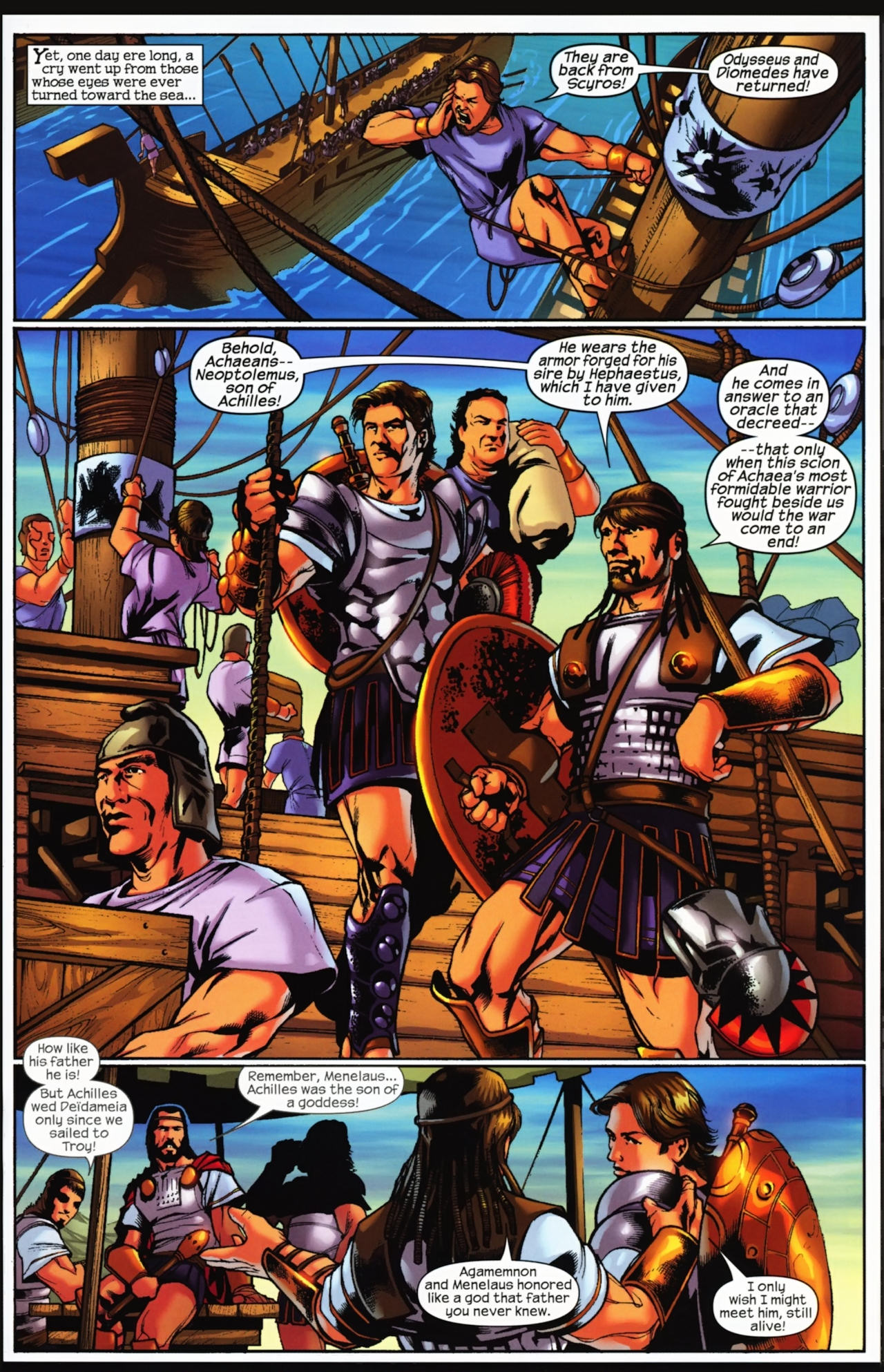 Read online Trojan War comic -  Issue #4 - 20