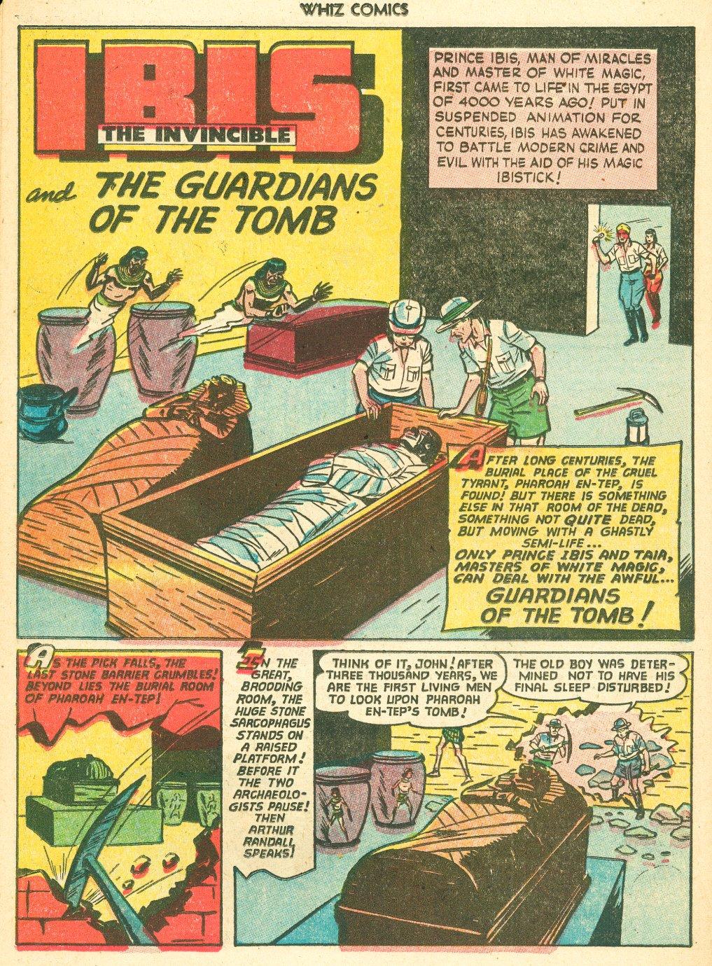 WHIZ Comics #155 #156 - English 22