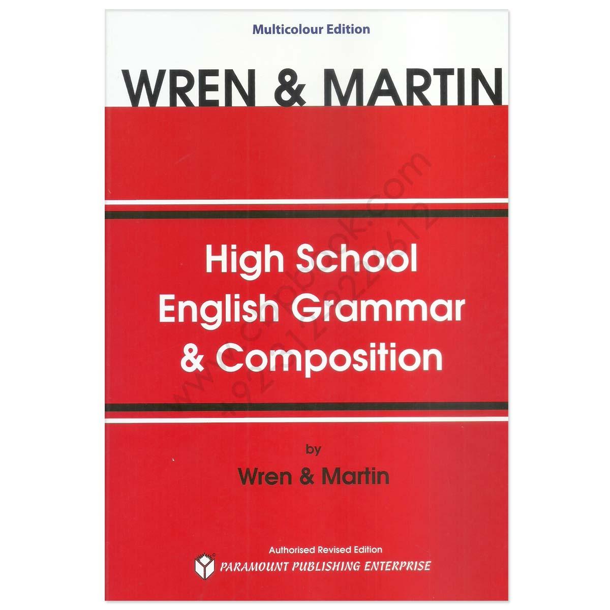 Wren martin grammar book