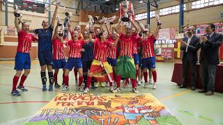 FÚTBOL SALA - El Atlético revalida el título de la Supercopa de España