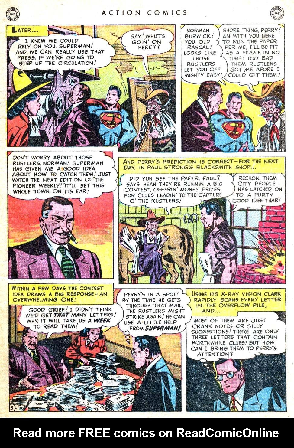 Read online Action Comics (1938) comic -  Issue #134 - 7