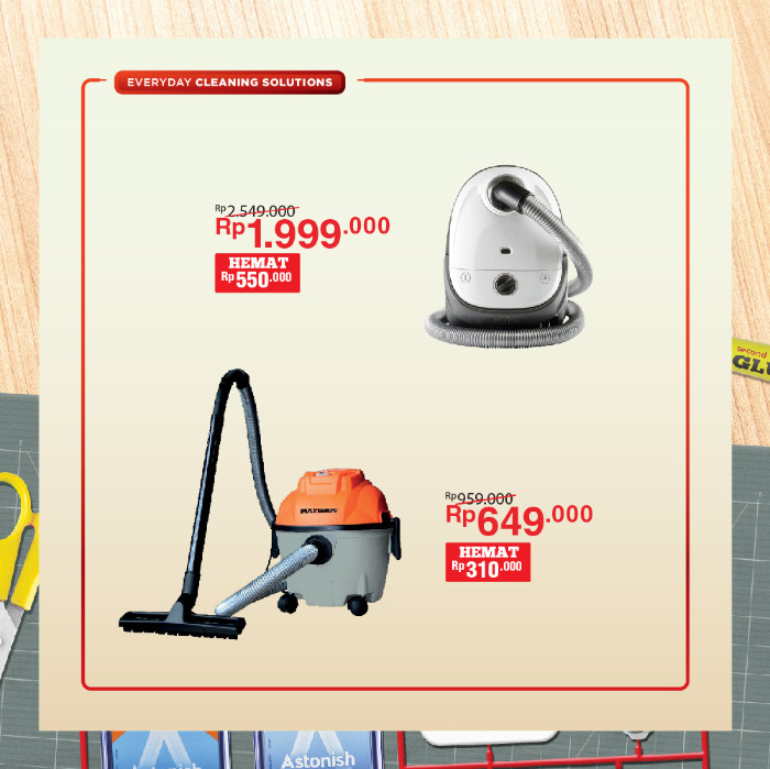 #ACEHardware - Promo Hemat Terbesar s.d 50% Untuk Alat Kebersihan (s.d 05 Feb 2019)