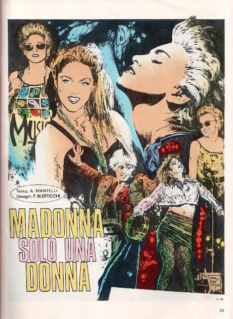 MADONNA – Solo Una Donna (fumetto Il Monello)