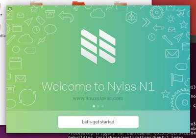 Loading Nylas N1 on Ubuntu Linux