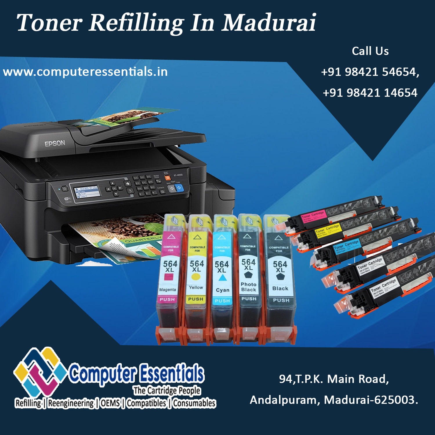 Toner refilling services best prices in madurai computer essentials toner refilling services best prices in madurai solutioingenieria Images