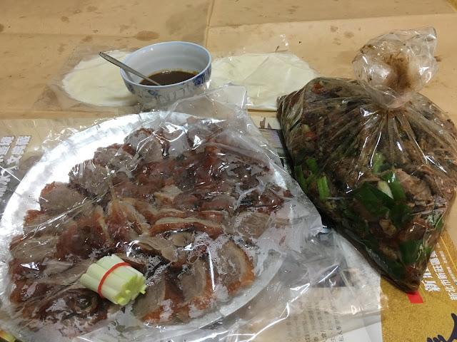 香之味烤鴨。臺灣新北新莊的美味烤鴨老店