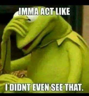 #KermitTheFrog - Imma Act Like I didn't even see that