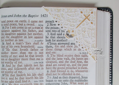 "ODBD ""Decorative Corners"" Dies, Vintage Border Background, The Word of God, Created by Angie Crockett"