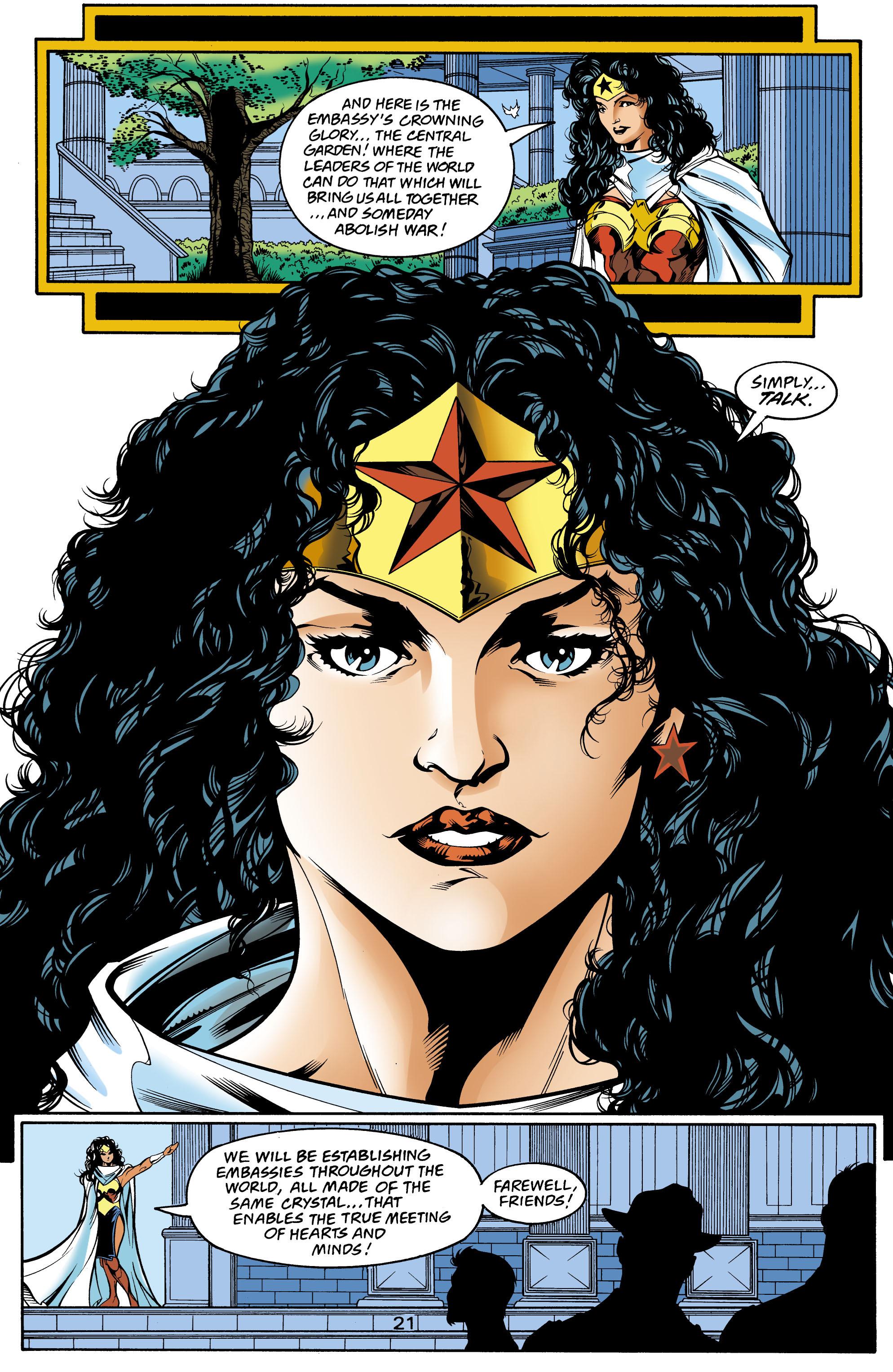Read online Wonder Woman (1987) comic -  Issue #159 - 22