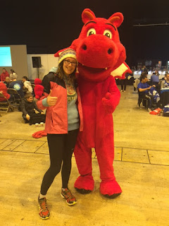 Meeting a giant red dragon in Wales
